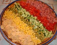 Радуга салат фото